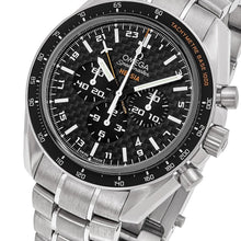 Load image into Gallery viewer, Omega Men's Speedmaster HB-SIA Solar GMT Chronograph Titanium Watch