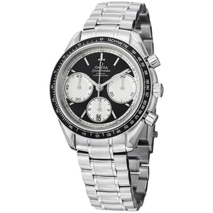 Omega Men's Speedmaster Racing Black Dial Chronograph Watch