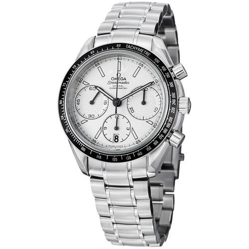 Omega Men's Speedmaster Racing Silver Dial Chronograph Watch