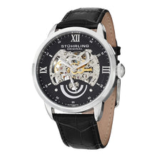 Load image into Gallery viewer, Stuhrling Symphony 589 Quartz Silver Tone Mesh Bracelet Women's Watch