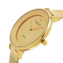 Load image into Gallery viewer, Stuhrling Symphony 589 Quartz Gold Tone Mesh Bracelet Women's Watch