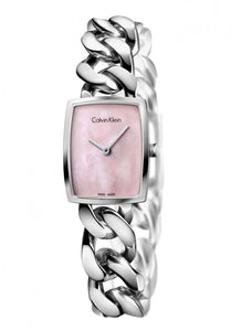 Calvin-Klein Amaze Pink Dial Ladies Small Watch