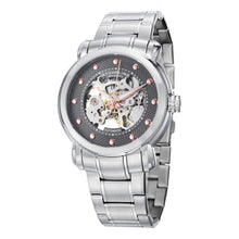 Load image into Gallery viewer, Stuhrling 644 Automatic Grey Dial Silver Stainless Steel Men's Watch