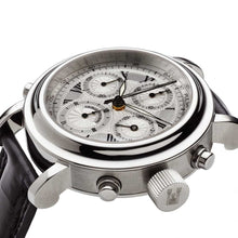 Load image into Gallery viewer, MGJVB Men's Roman Rattrapante Automatic Chronograph Watch