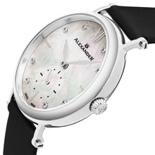 Load image into Gallery viewer, Alexander Roxana Diamond White Mother of Pearl Silver Tone Case Women's Watch