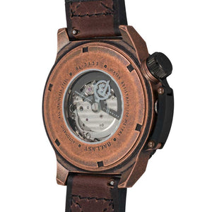 Ballast Trafalgar Automatic Brown Men's Watch
