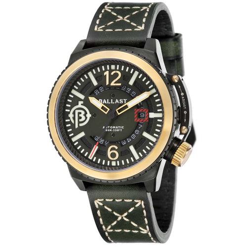 Ballast Trafalgar Automatic Green Men's Watch