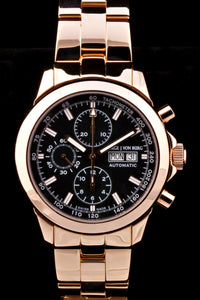 MGJVB Men's Sport II RG Bracelet Automatic Chronograph Watch