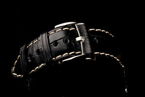 MGJVB High Quality Genuine Large Grain Alligator Strap