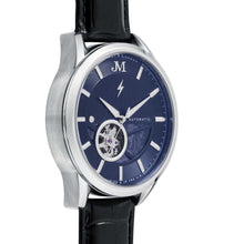 Load image into Gallery viewer, James-McCabe Belfast Automatic Blue Dial Men's Watch