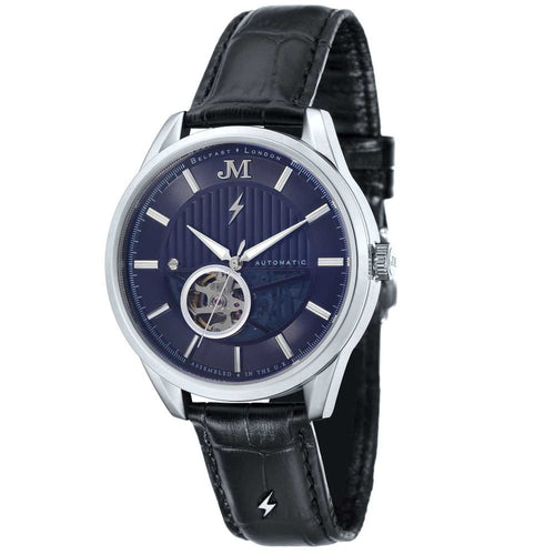 James-McCabe Belfast Automatic Blue Dial Men's Watch