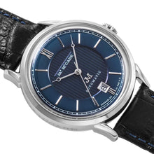 Load image into Gallery viewer, James-McCabe Heritage Automatic II Blue Dial Men's Watch