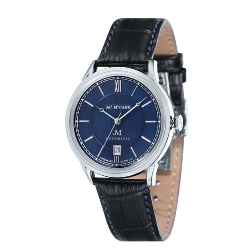 James-McCabe Heritage Automatic II Blue Dial Men's Watch