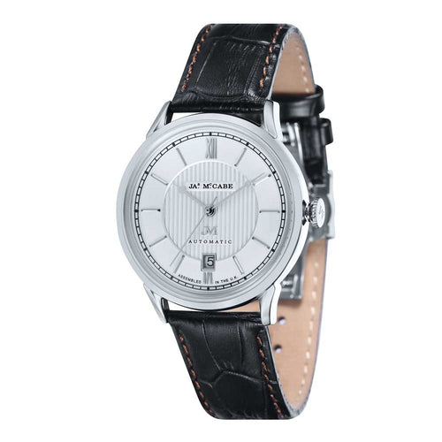 James-McCabe Heritage Automatic II White Dial Men's Watch