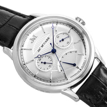 Load image into Gallery viewer, James-McCabe Heritage Retrograde II Silver White Dial Men's Watch