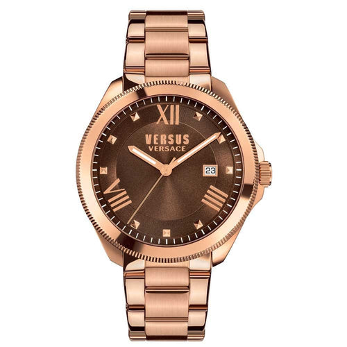 Versus-Versace Women's Elmont Brown Dial Watch