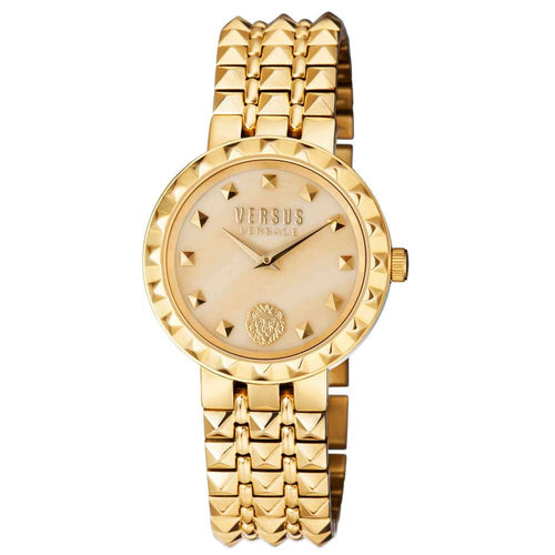 Versus-Versace Women's Coral Gables Champagne Dial Watch
