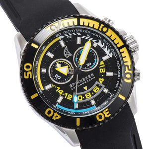 Spinnaker Amalfi Black Chronograph Men's Watch