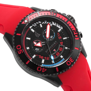 Spinnaker Amalfi Red and Black Chronograph Men's Watch