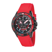 Load image into Gallery viewer, Spinnaker Amalfi Red and Black Chronograph Men's Watch