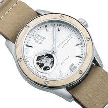 Load image into Gallery viewer, Spinnaker Sorrento Automatic White Dial Leather Strap Men's Watch