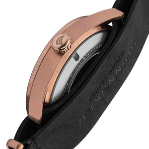 Spinnaker Sorrento Automatic Brown Dial Rose Gold Tone Men's Watch