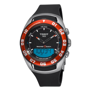 Tissot Sailing Touch Black Dial Men's Watch