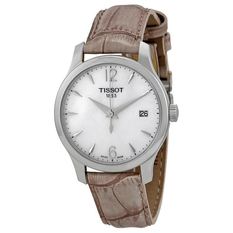 Tissot Tradition Mother of Pearl Dial Ladies Watch