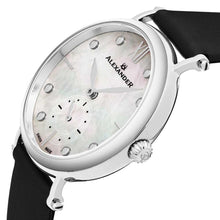 Load image into Gallery viewer, Alexander Roxana Swiss Quartz White Mother of Pearl Dial Silver Tone Case Women's Watch