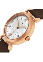 Load image into Gallery viewer, Alexander Olympias Swiss Quartz Rose Gold Tone Stainless Steel Case Brown Satin Strap Women's Watch