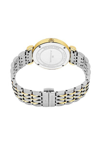 Alexander Olympias Swiss Quartz Yellow Gold Tone Stainless Steel Case Stainless Steel Bracelet Women's Watch