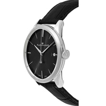Load image into Gallery viewer, Alexander Sophisticate Swiss Quartz Silver Tone Case Leather Strap Men's Watch