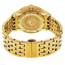 Load image into Gallery viewer, Alexander Sophisticate Swiss Quartz Gold Tone Bracelet Men's Watch