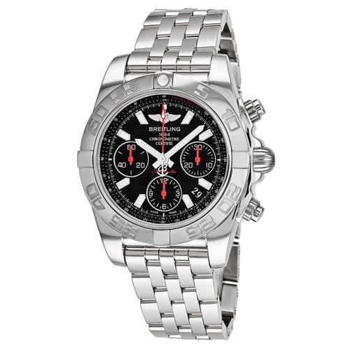 Breitling Men's Chronomat 41 Black Dial Chronograph Swiss Automatic Watch