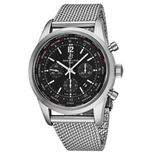 Load image into Gallery viewer, Breitling Men's TransOcean Black Dial Unitime Chronograph Swiss Automatic Watch