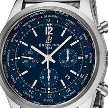 Load image into Gallery viewer, Breitling Men's TransOcean Blue Dial Unitime Chronograph Swiss Automatic Watch