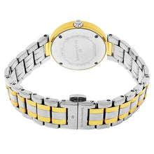 Load image into Gallery viewer, Alexander Niki Diamond Swiss Quartz 3-Hand Date Two Tone Women's Watch
