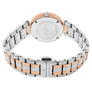 Alexander Niki Diamond Swiss Quartz 3-Hand Date Rose Gold Tone Women's Watch