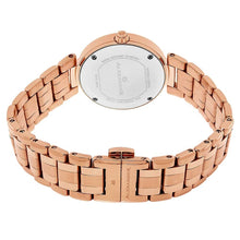 Load image into Gallery viewer, Alexander Niki Diamond Swiss Quartz 3-Hand Date Rose Gold Tone Women's Watch