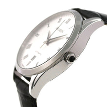 Load image into Gallery viewer, Balmain Men's Classic R Grande White Dial Leather Strap Automatic Watch