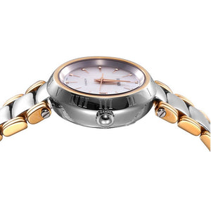 Balmain Women's Classica Mother-of-Pearl Dial Dual Tone Automatic Watch