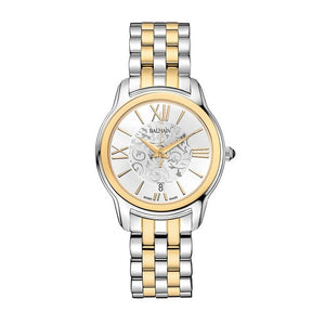 Balmain Women's Miss Balmain Dream Arabesque Dial Dual Tone Stainless Steel Quartz Watch