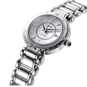 Balmain Women's Balmainia Lady Arabesque Dial Stainless Steel Automatic Watch