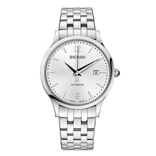 Load image into Gallery viewer, Balmain Men's Classic R Gent Silver Dial Stainless Steel Automatic Watch