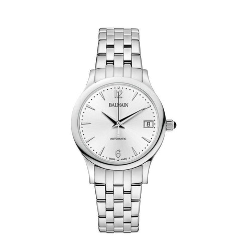 Balmain Women's Classic R Silver Dial Stainless Steel Automatic Watch