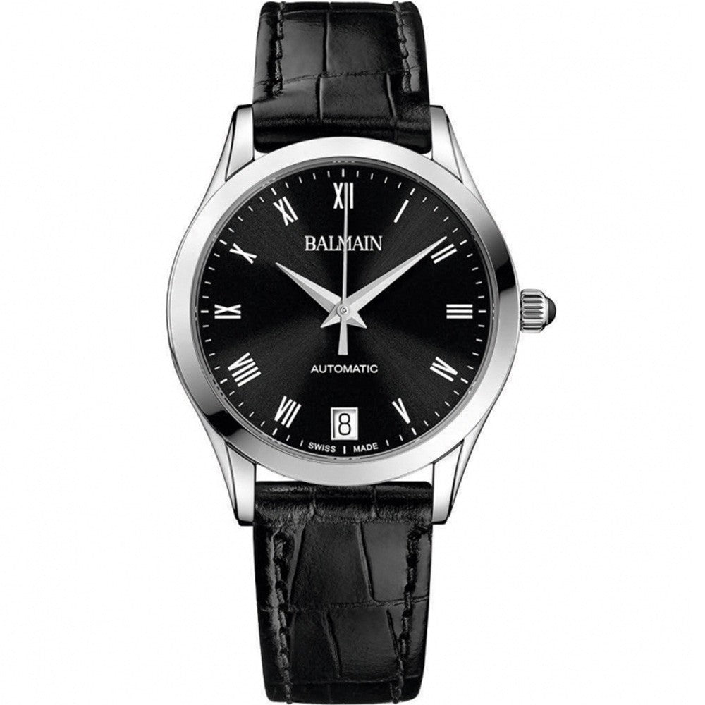 Balmain Women's Classic R Granda Black Dial Automatic Watch