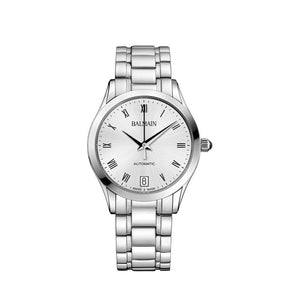 Balmain Women's Classic R Granda Silver Dial Stainless Steel Automatic Watch