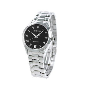 Balmain Women's Classic R Granda Black Dial Stainless Steel Automatic Watch