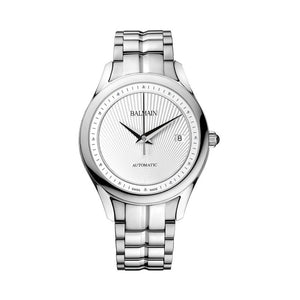 Balmain Women's Balmain Maestria Gent Round Silver Dial Stainless Steel Automatic Watch