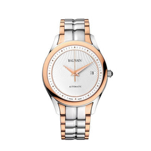 Balmain Women's Balmain Maestria Gent Round Silver Dial Dual Tone Stainless Steel Automatic Watch